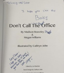 Don't Call the Office - autograph